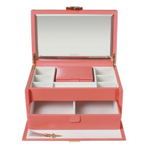 71042 Dulwich Design Mayfair Large Jewellery Box Coral